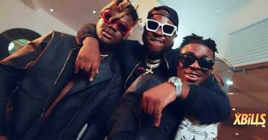 Frank Naro ft Medikal and Quamina MP performing Twa Me 2 Official Music Video directed by Xbills Ebenezer, song produced by Dr. Ray, mixed by Kin Dee.