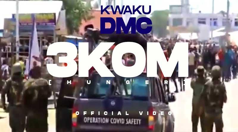 Kwaku DMC performing 3kom Official Music Video directed by Junie Annan.