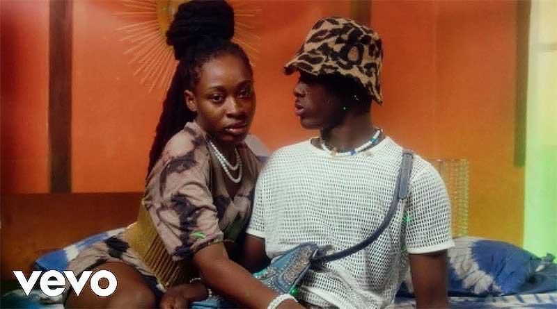 Larruso ft. Kojo Blak performing Spiritual Official Music Video directed by Abeiku Simonson, song produced by Skito Beatz.