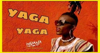 Wiyaala performing Yaga Yaga Plenty Plenty Official Music Video directed by Wiyaala, song produced by Martin Gregory Smith Mu Studios.