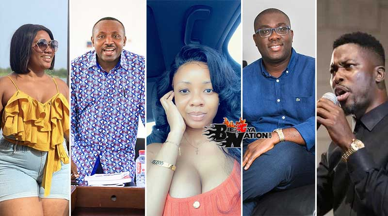 Abena Korkor, John Boadu, Serwaa Amihere, Sammy Awuku, A-Plus.