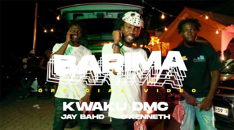 Kwaku DMC ft JayBahd and OKenneth performing Barima Music Video directed by Junie Anan.