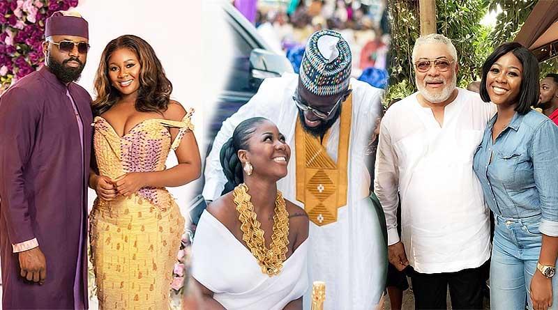 Salma Mumin husband and boyfriend Elikem Kumodzie and Kofi Asamoah.