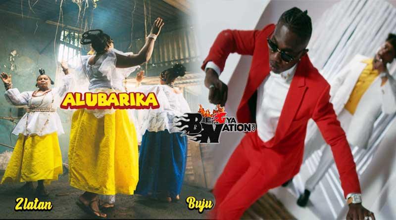 Zlatan featuring Buju performing Alubarika Music Video.