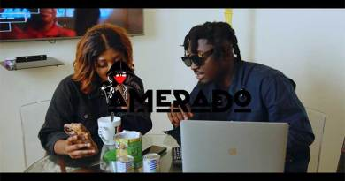Amerado featuring Odeneho Cannella premiers Format Music Video.