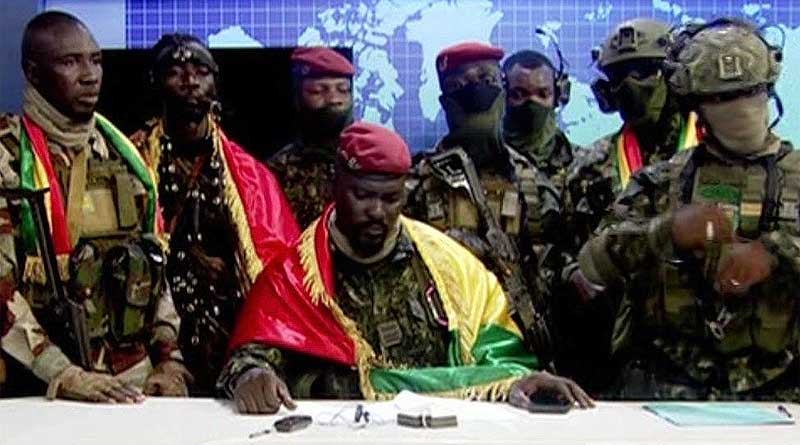 Guinea coup attempt as soldiers seize power from Alpha Conde.