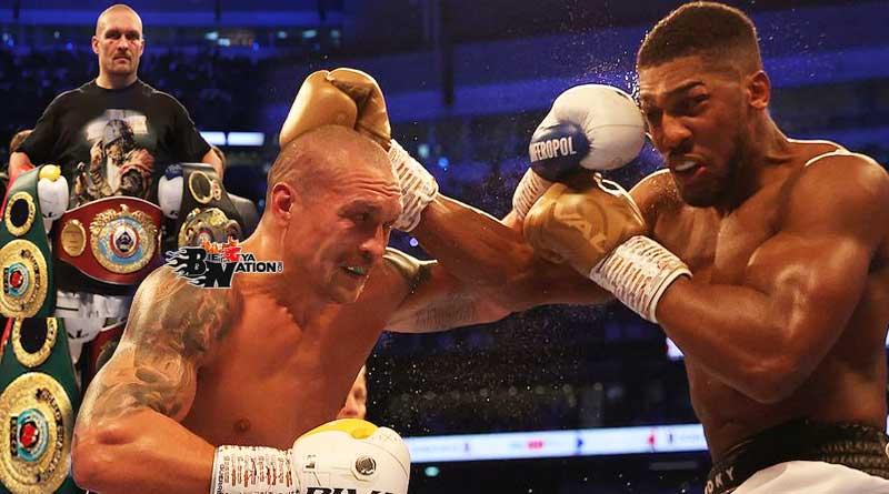 Oleksandr Usyk beats Anthony Joshua to take his Heavyweight titles.