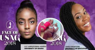 Face of usag 2018 contestants drown at Cape Coast beach.