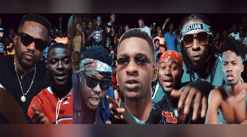 R2Bees boys kasa video King Promise, Kwesi Arthur, Darkovibes, Medikal, B4bonah.