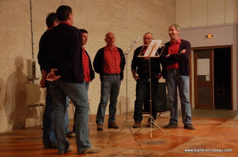 Les chanteurs de Bielle