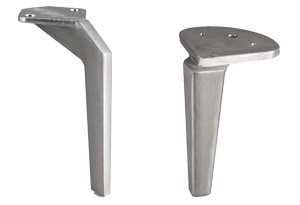Gambe per lavabo e mobili da bagno. Biemme Italia Prodotti Piedini