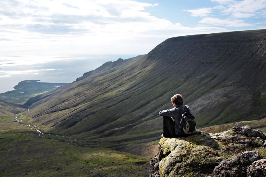 Balade Jusquau Mont Esja En Islande