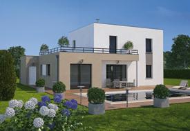 Maison Moderne Ecologique Et Toit Terrasse Bien Construire