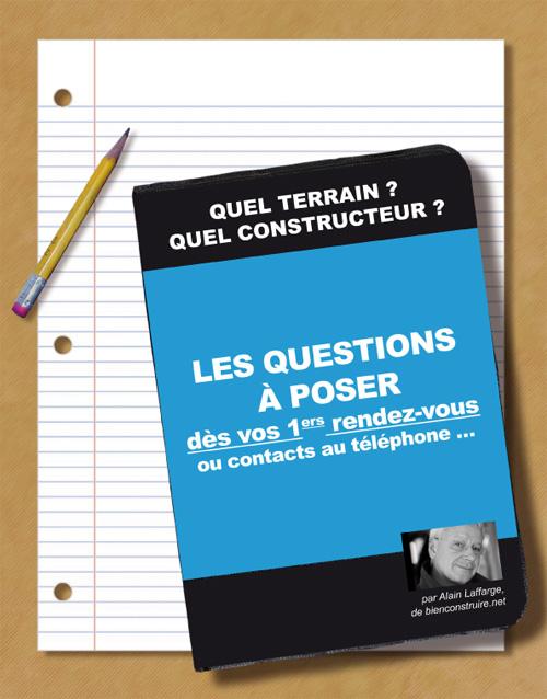 Les questions à poser au constructeur de maison dès le 1er rendez-vous