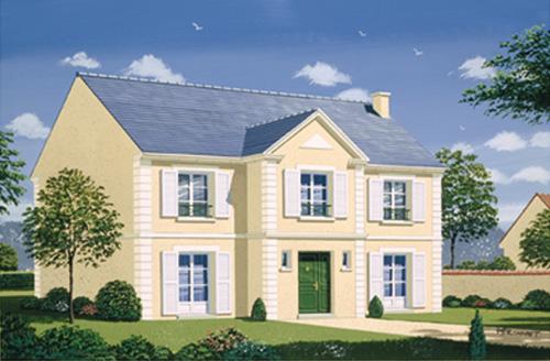 modle plessis du constructeur maisons deal dessin en perspective - Modele De Maison A Construire