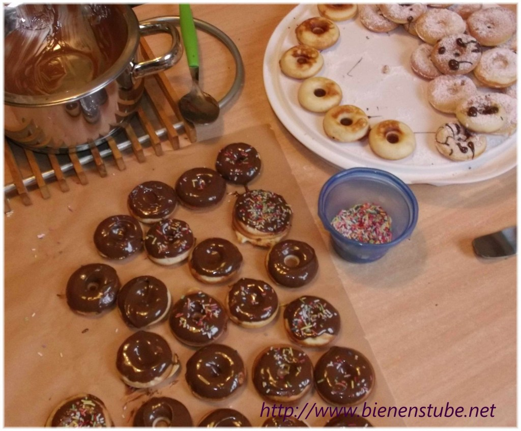 Donuts verzieren