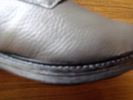 Schuhe Naht
