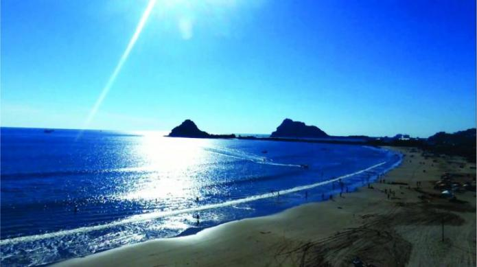 Image result for playas de isla de la piedra mazatlan