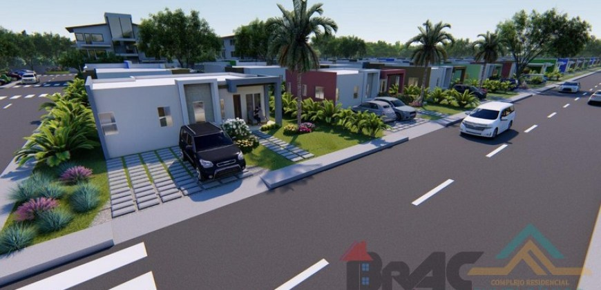 Casa Complejo Residencial Punta Bávaro tipo B