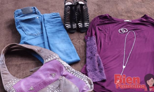 Como combinar un par de zapatos con los outfits – 3 ejemplos