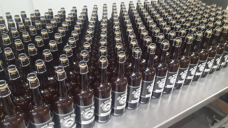 Botteldag tripel 'staal' bij De Noord-Hollandse Bierbrouwerij