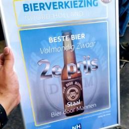 Prijs bij Bierverkiezing Noord-Holland