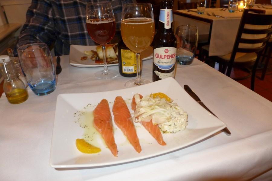 Restaurant Dwars zalm