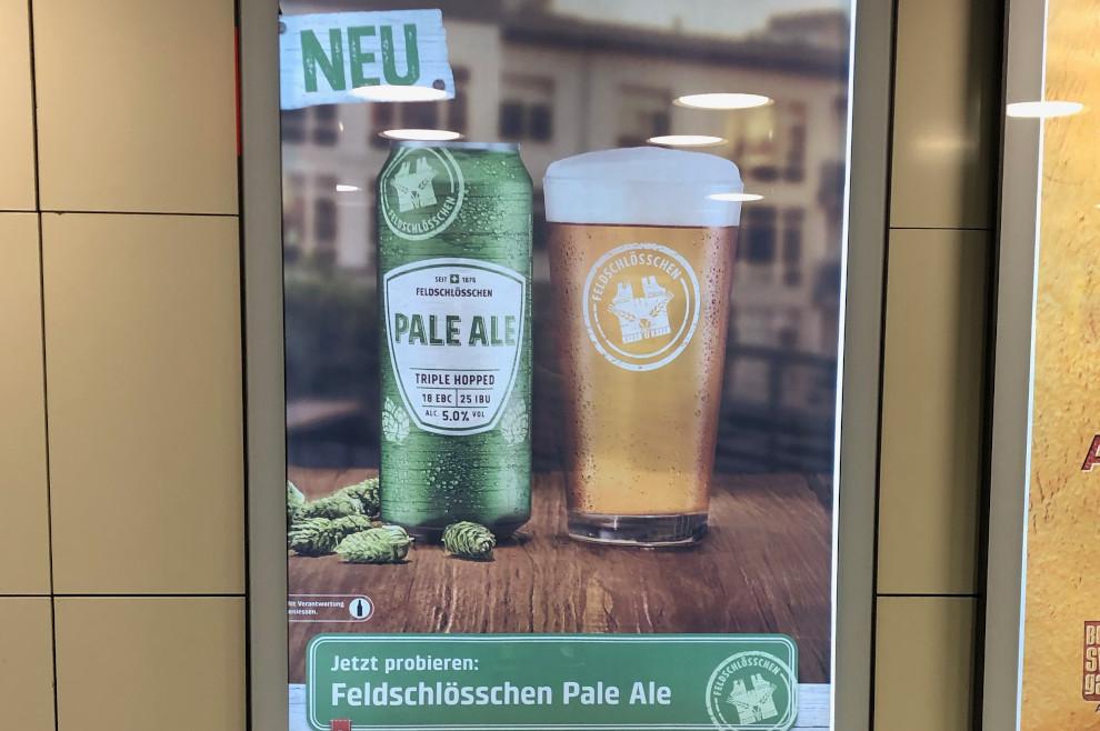 Feldschlösschen nun auch mit Pale Ale