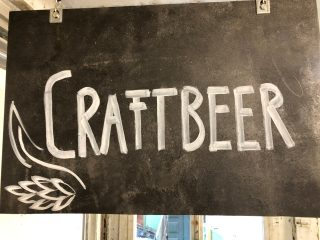 Craft Beer Schild