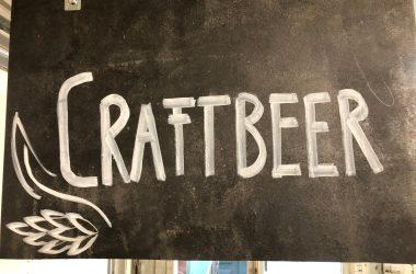 Craft Beer Schild