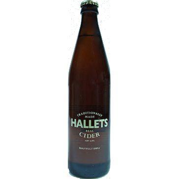 Hallets – Hallets Real Cider 50cl