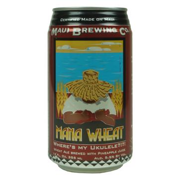 Maui Brewing – Mana Wheat Ale 35,5Cl