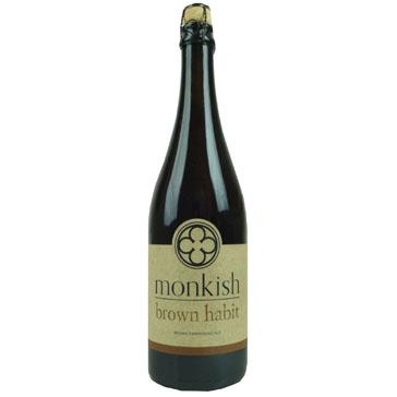 Monkish Brewing – Brown Habit Farmhoudse Ale 75Cl