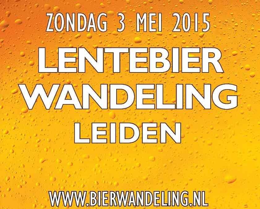 Proef de Lente tijdens de Lentebierwandeling Leiden op zondag 3 mei 2015!