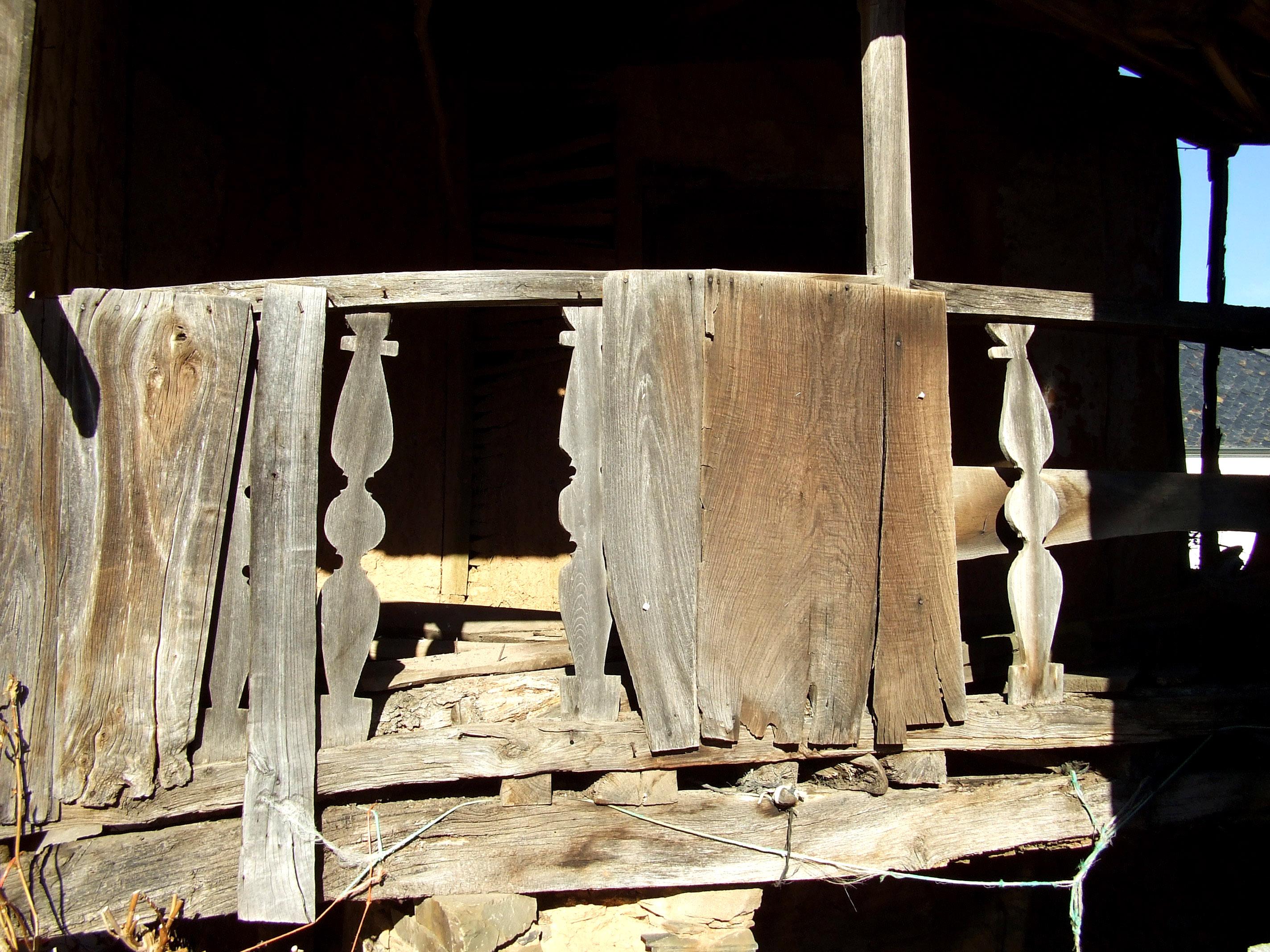 Balaustres en Noceda