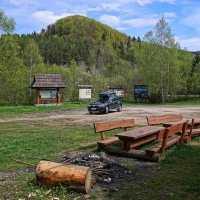Parking piknikowy w Stuposianach