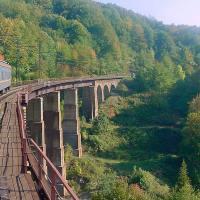 Najpiękniejsza trasa kolejowa Bieszczadów