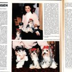 German Dog Magazine Article about Mr. & Mrs. Biewer