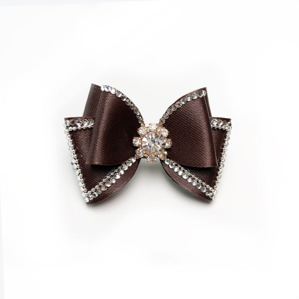 Brown Show Dog Bow