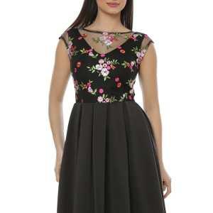 Rochie eleganta pentru ocazii speciale din jerseu