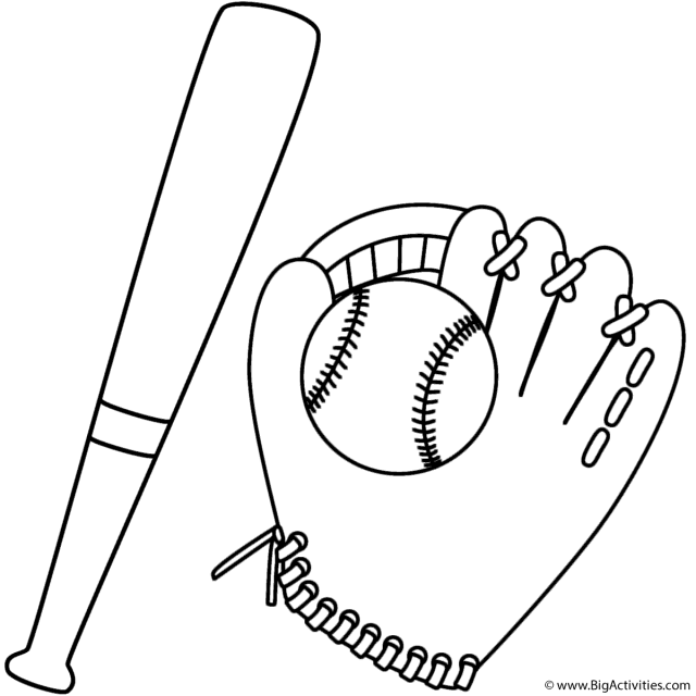 Dad baseball coloring pages