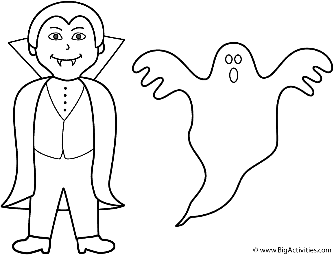 Vampire With Ghost