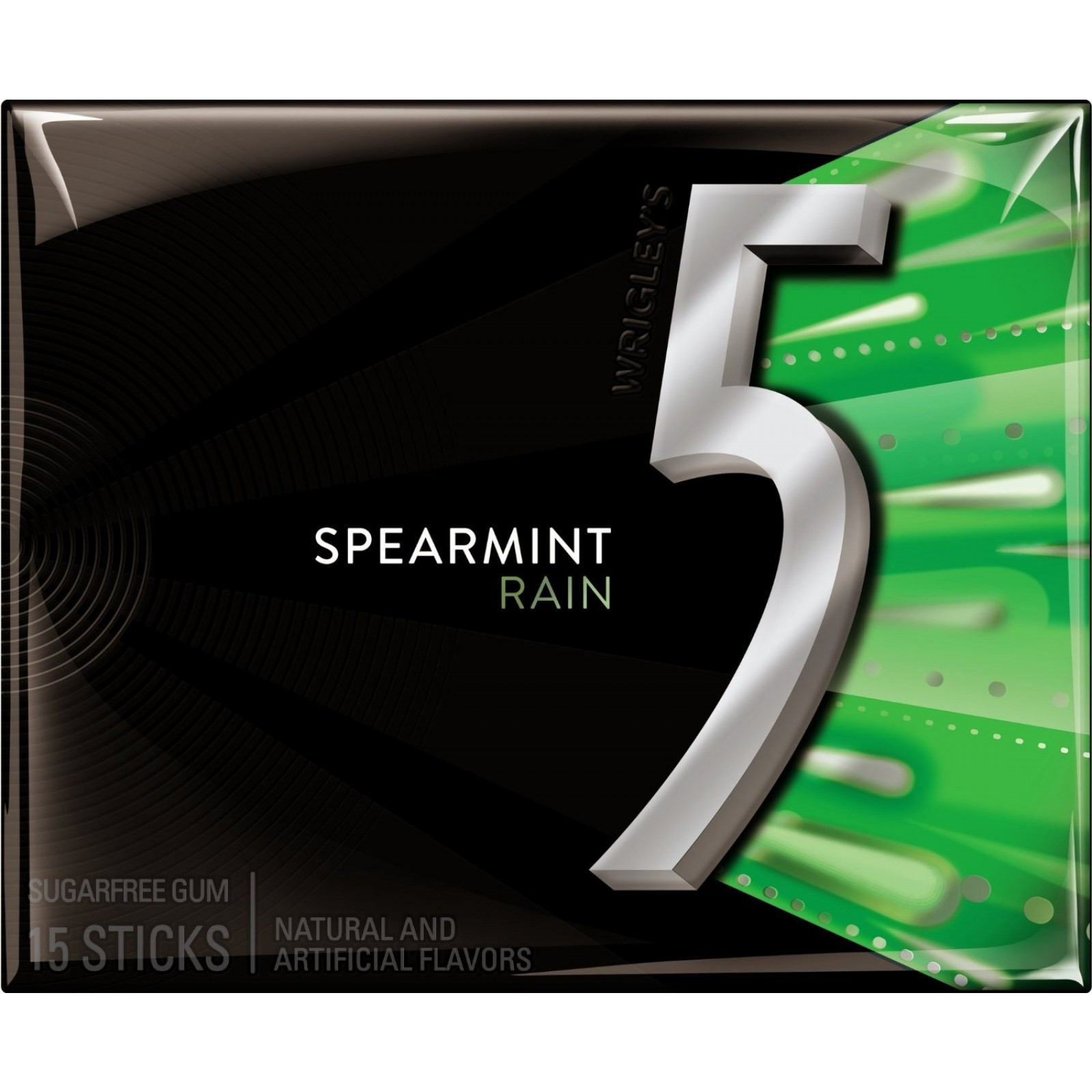 Buy 5 Gum Rain Spearmint Sugar Free