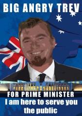 Fan Art - Big PM Trev Campaign Poster!