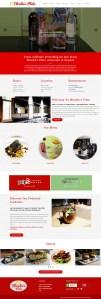 Blondies Plate Website redesign