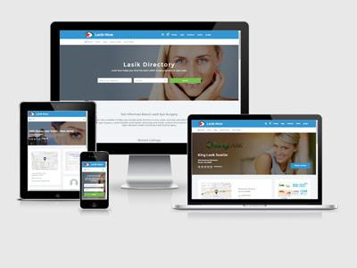 Lasik Now responsive web design