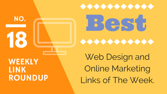 best web design and marketing links roundup