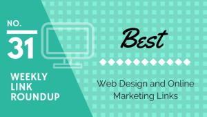 weekly design marketing link roundup