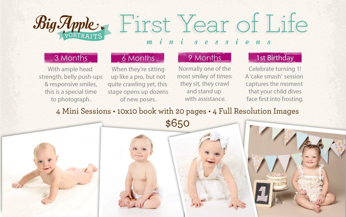First Year of Life Photography