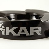 Xikar's brand ashtray with five step rests insuring a comfortable and proper rest height for any cigar.